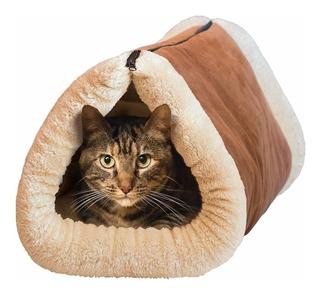 Cama Tunel Termica Polar Para Gato / Onlineclub