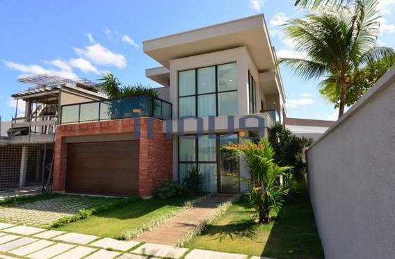 Casa Com 3 Dormitórios À Venda, 236 M² Por R$ 930.000 - Tamatanduba - Eusébio/ce - Ca0086