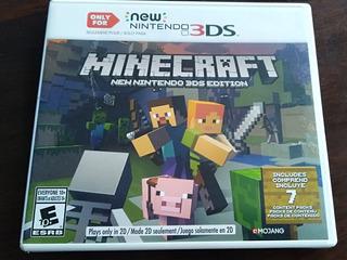 Minecraft New Nintendo 3ds Edition. De Uso Y Funcionando
