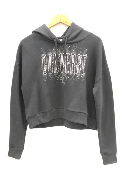 Buzo Canguro Converse Starry Shorty Hoodie 9616