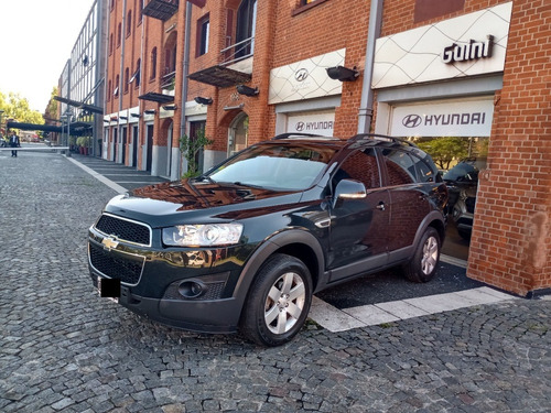 Chevrolet Captiva Ls 3 Filas, Negra, Mt, 2014, 140000kms