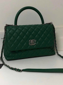 475c8146f Bolsa Chanel Verde - Bolsa Chanel Femininas no Mercado Livre Brasil
