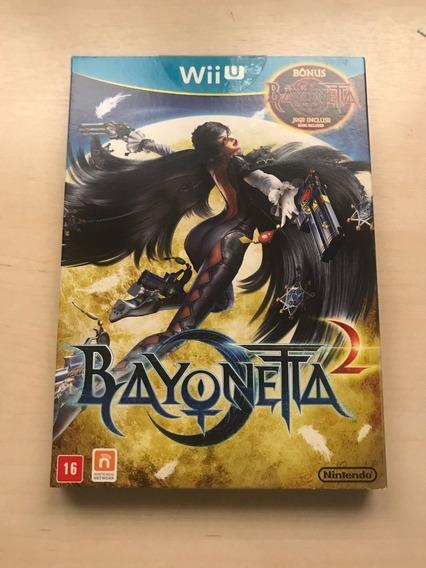 Jogo Nintendo Wii U Bayonetta 1 + 2 Dois Discos Separados