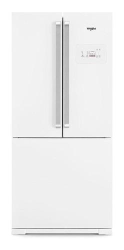 Imagen 1 de 6 de Heladera a gas no frost Whirlpool WRO80 blanca con freezer 541L 220V