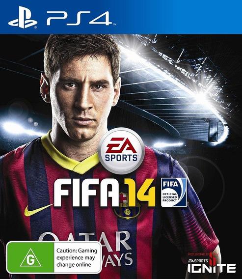 Jogo Fifa 14 Ps4 Playstation 4 Pronta Entrega Português Fisi