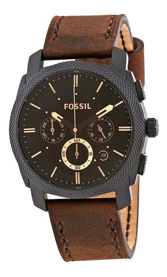 Relógio Fóssil Machine Cronógrafo-fs5251set