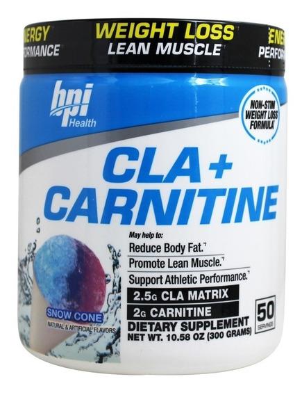 Carnitina Bpi Cla + Carnitine (50 Servicios) Todos Los Sabores!