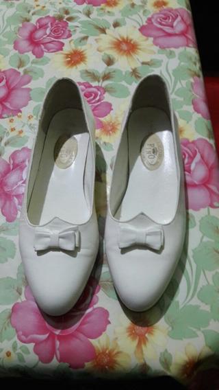 Zapatos Nena Comunión Fiesta Cortejo Blancos