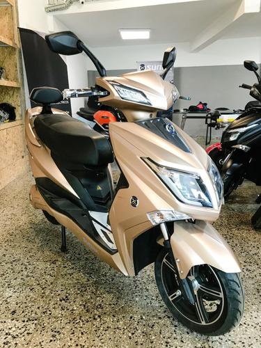 Moto Eléctrica Sunra Hawk Litio / Adelanto Y Ahora 12