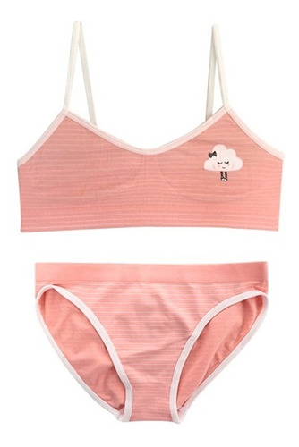 Conjunto Top Y Calzón Bikini Niñas Cn22681-72681
