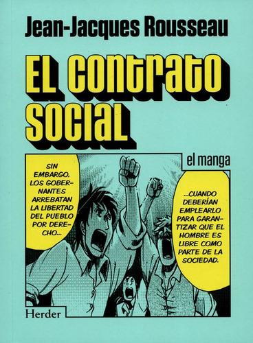 Imagen 1 de 1 de Libro El Contrato Social (en Historieta / Comic)