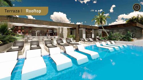 Imagen 1 de 6 de Hermoso Penthouse En El Corazón De Playa Del Carmen