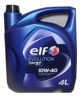 Aceite De Motor Elf Evolution 10w40 Semisintetico Nafta 4l