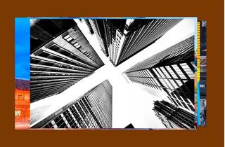 Cuadro Decorativo City Ny Moderno Canvas De Algodón