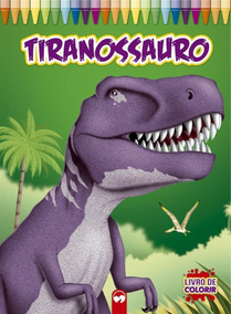 Livro De Colorir - Tiranossauro