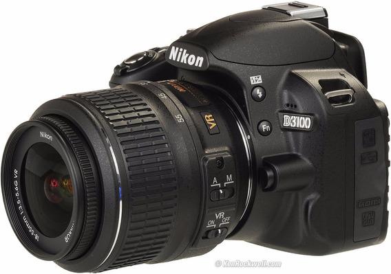 Câmera Nikon D3200+lente 18-55 ( Semi-nova )