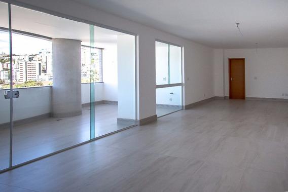 Excelente Apartamento À Venda - 04 Quartos - Bairro Luxemburgo - Belo Horizonte (mg) - 3526