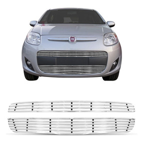 Sobre Grade Fiat Palio 2013 A 2016 Aço Inox Elite Gtnox