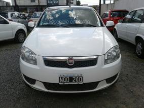 Fiat Siena Motor 1.4 58000km 2014 Blanco 4 Puertas Gnc