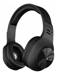 Auriculares Sades D808 Bluetooth Over-ear Inalambrico Con Mic Para Music/cell Phone/tv/pc(blcak )