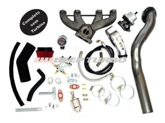 Kit Turbo Vw Ap Pulsativo Carburado Ou Injeção Sem Turbina