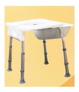 Asiento Para Ducha De Aluminio Sin Respaldo
