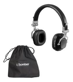 Fone De Ouvido Headphone Hb11 Bluetooth Preto Bomber