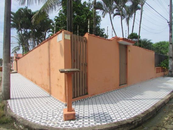 270-casa Alto Padrão, Á 50 Metros Da Praia. Bairro Cibratel