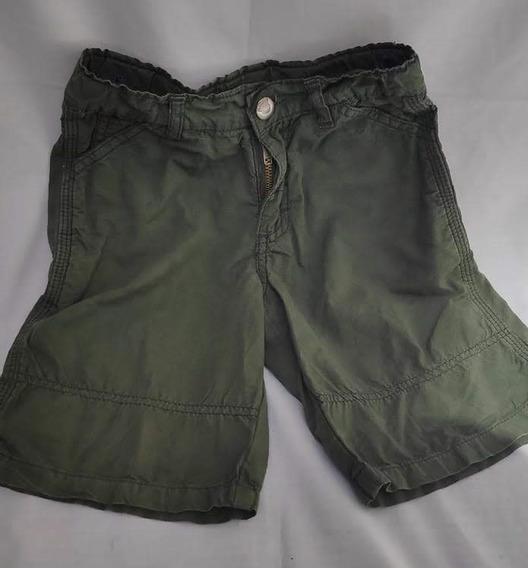 Short, Pantallón Corto De Tela Gimos T4