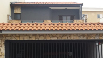 Sobrado Com 4 Dormitórios À Venda, 242 M² Por R$ 750.000 - Parque Novo Oratório - Santo André/sp - So22192