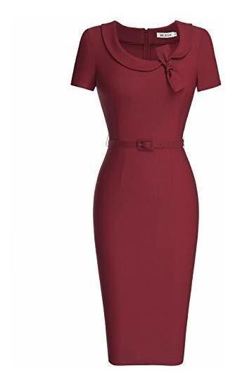 Muxxn - Vestido De Cóctel Para Mujer, Estilo Audrey Hepburn,