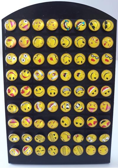Kit Revenda 36 Pares De Brincos Emoji Whatsapp. Novidade!