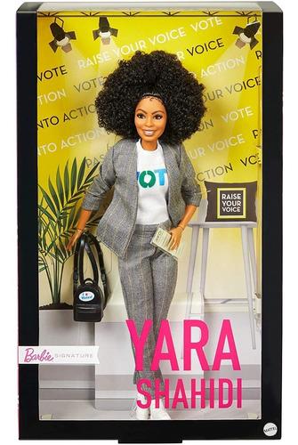 Barbie Yara Shahidi Shero Negra Inspiring Women Collector