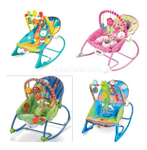 Silla Mecedora Para Bebé Musical - Vibrador Niño-niña
