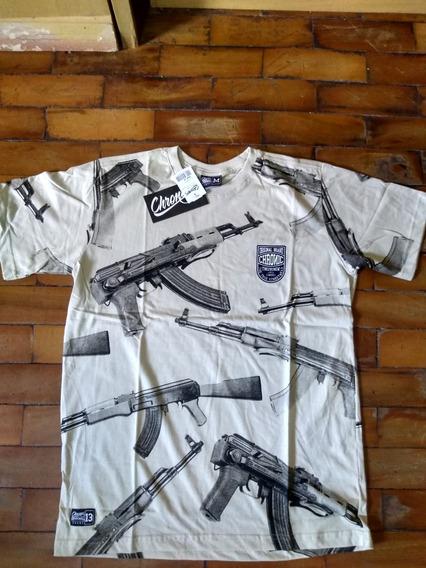 Camiseta Ak Ninguem Guenta Chronic