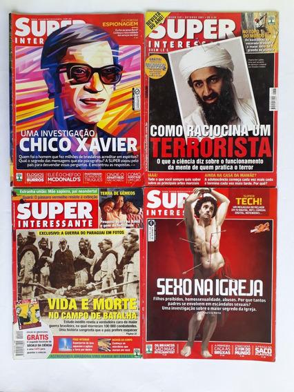 Revista Super Interessante Espiritismo Lote Com 5 Revista