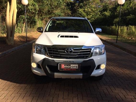 Toyota Hilux Cd Srv D4d 3.0 Branco 2013