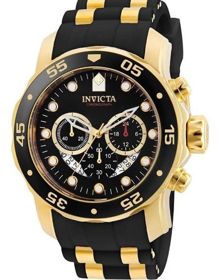 Relógio Invicta Pro Diver Dourado Masculino 6981 - 18k