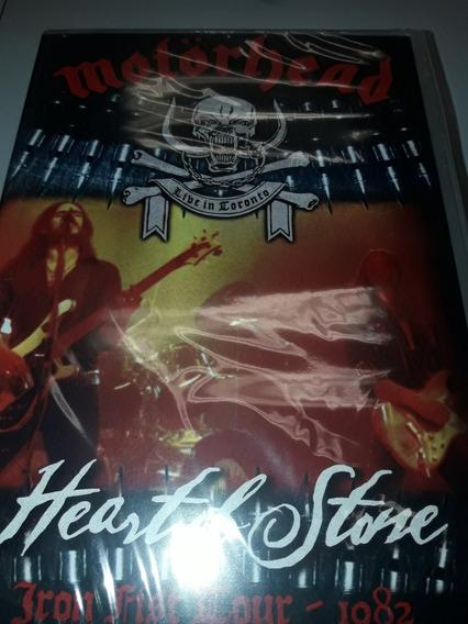 Motorhead Heart Of Stone . Dvd Lacrado
