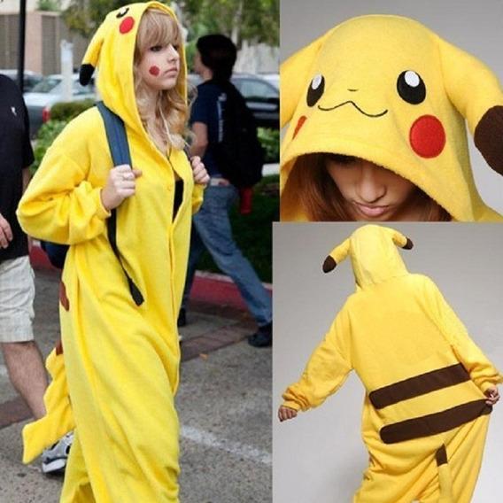 Pijama Pikachu - Kigurumi - Cosplay - Fantasia Promoção