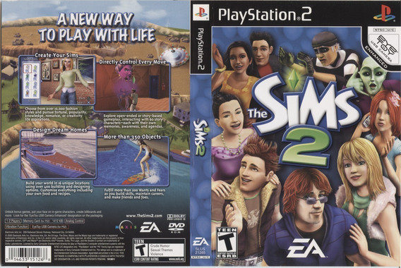 The Sims 2 Para Playstation 2 - Patch