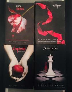 Saga Completa Crepúsculo (4 Libros) - Stephenie Meyer