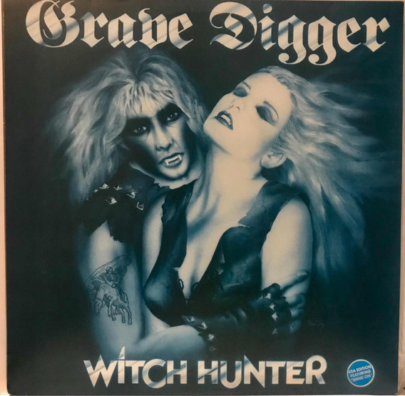 Lp Grave Digger Witch Hunter - Nacional.