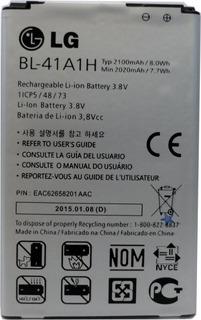 Bateria LG Original F60 Bl-41a1h 2100mah (2015) E3022