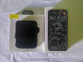 Xiaomi Mi 9 Se (usado) Tela Queimada! + Dock Baseus 7 Em 1