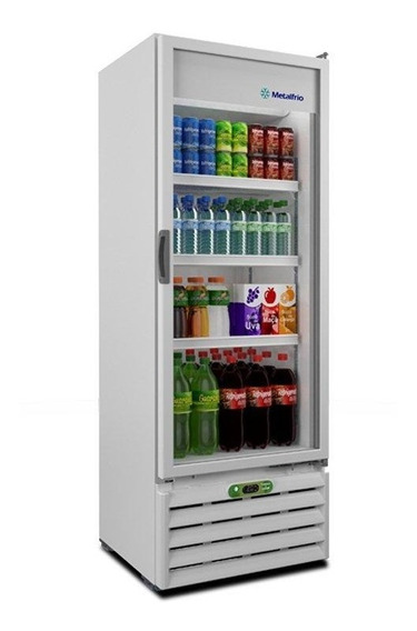 Refrigerador Vertical Expositor, Metalfrio Vb40re 350 Litros
