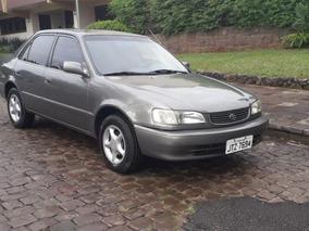 Toyota Corolla Xei 1.8 Aut. 2001 Cinza Gasolina