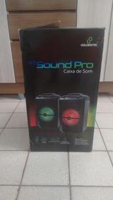 Caixa De Som Gt Sound Pro