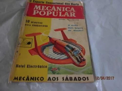 Mecânica Popular- Outubro 1961