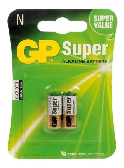 Pilha Gp 910a-2u2 Lr1 Tipo N 1,5v Super Alcalina Cartela C 2